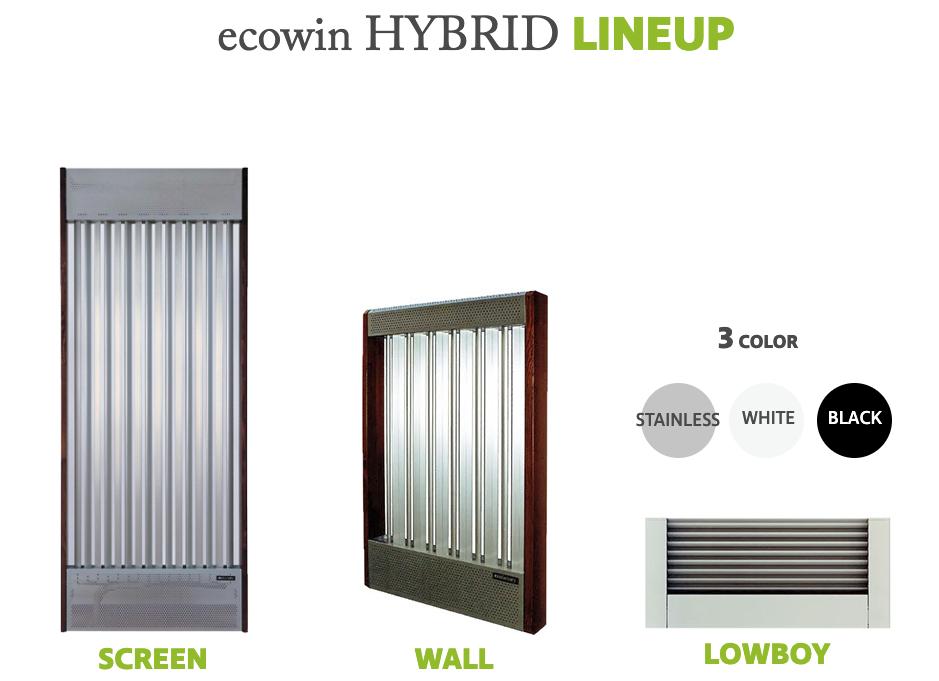 ecowin HYBRID LINEUP